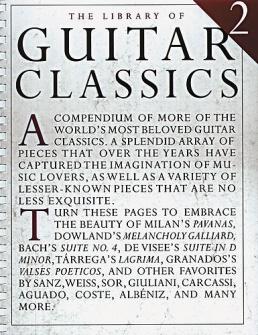 Library Of Guitar Classics : Vol 2
