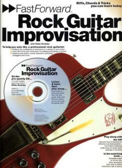 Rooksby Rikky - Rock Guitar Improvisation+ Cd - Guitar Tab