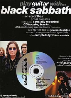 Play Guitar With Black Sabbath + Cd