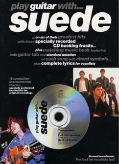 Suede - Play Guitar With + Cd - Guitar Tab