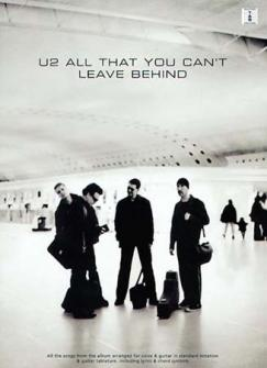 U2 - All That You Can't Leave - Guitar Tab