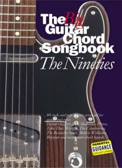 The Big Guitar Chord Songbook - The 90