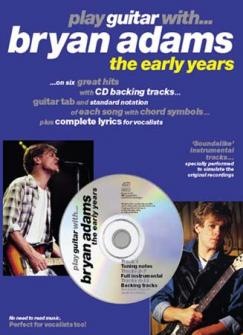Adams Bryan - Play Guitar With Early Years + Cd - Guitar Tab