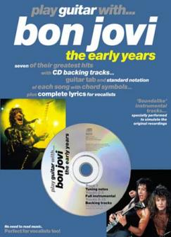 Bon Jovi - Play Guitar With Early Years + Cd - Guitar Tab