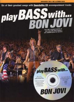 Bon Jovi - Play Bass With + Cd - Bass Tab