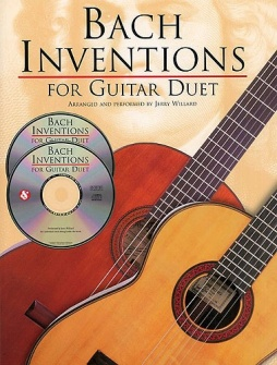 Bach - Inventions For Guitar Duet + 2 Cd - Guitar Tab