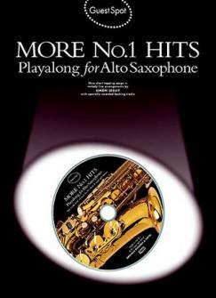 Guest Spot - More N°1 Hits + Cd - Saxophone Alto