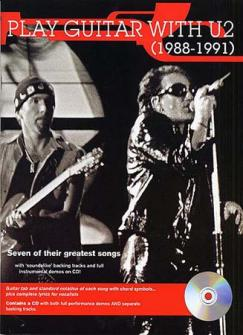 U2 - Play Guitar With 88-91 + Cd - Guitar Tab