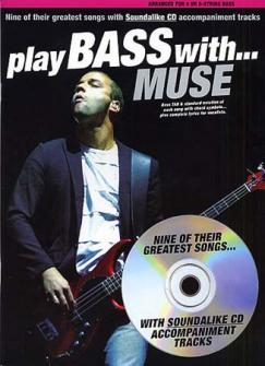 Muse - Play Bass With - Tab + Cd