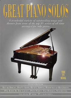 Great Piano Solos Tv Book - Piano