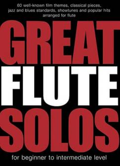Great Flute Solos - 60 Pieces