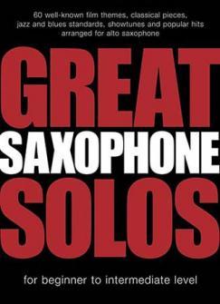Great Saxophone Solos - 60 Themes - Alto Sax