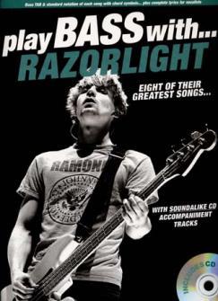 Razorlight - Play Bass With + Cd - Bass Tab