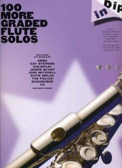100 More Graded Flute Solos Dip In - Flute