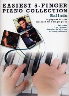 Easiest 5-finger Piano Collection Ballads