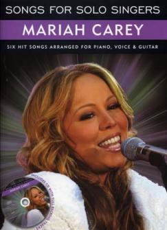 Carey Mariah - Songs For Solo Singers + Cd - Pvg