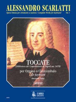 Scarlatti Alessandro - Complete Works For Keyboard Vol.1 : Toccatas