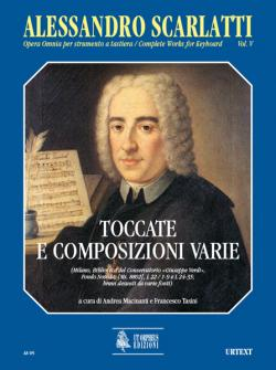 Scarlatti Alessandro - Complete Works For Keyboard Vol.5 : Toccatas And Various Compositions