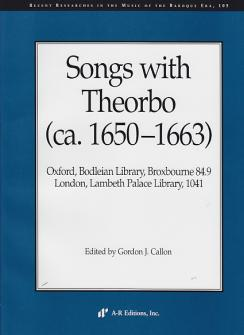 Songs With Theorbo (ca 1650-1663)