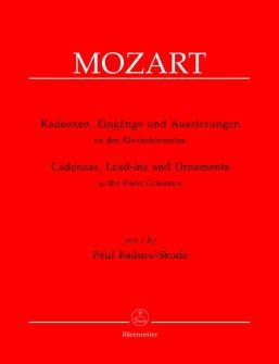 Badura-skoda Paul - Cadences Et Introductions Aux Concertos Pour Piano De W.a. Mozart - Piano