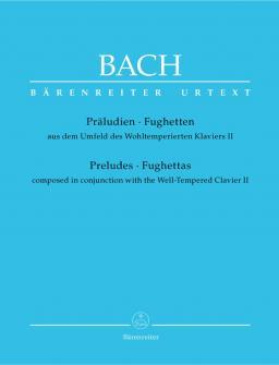 Bach J.s. - Preludes Et Fugues Composes En Meme Temps Que Le Clavier Bien Tempere Vol.2 - Piano