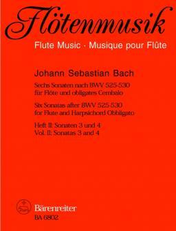 Bach J.s. - 6 Sonaten Nach Den Orgeltriosonaten Vol. 2 - Flute Et Clavecin