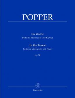 Popper David - Im Walde Op.50 - Violoncelle, Piano
