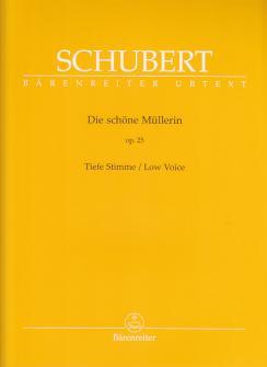 Schubert F. - Die Schone Mullerin - Voix Basse Et Piano