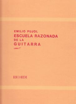 Pujol E. - Escuela Razonada De La Guitarra Vol. 1