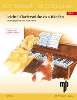 Easy Pieces - Piano 4 Mains