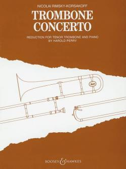 Rimsky-korsakov Nikolai - Trombone Concerto - Trombone And Orchestra