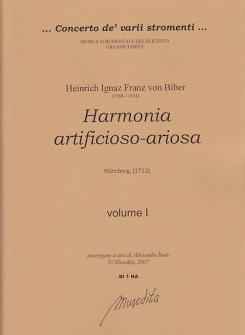 Biber Heinrich Ignaz Franz Von - Harmonia Artificioso-ariosa