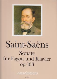 Saint-saëns - Sonate Für Fagott Und Klavier Op.168