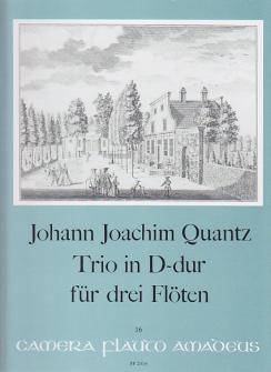 Quantz Trio In D-dur - 3 Floten