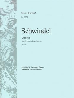Schwindel F. - Flotenkonzert D-dur - Flute, Piano