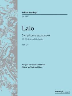 Lalo E. - Symphonie Espagnole Op. 21 - Violon, Piano