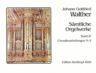 Walther J.g. - Integrale Pour Orgue Vol.4