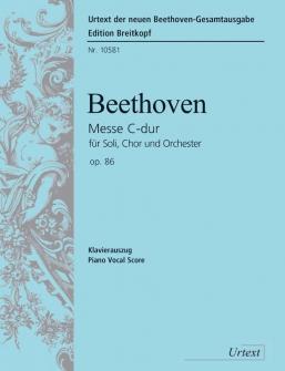 Beethoven L.v. - Messe Do Majeur Op. 86