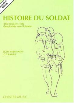 Stravinsky I. - Histoire Du Soldat - Conducteur