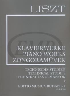Liszt Franz - Technical Studies 1 - Piano
