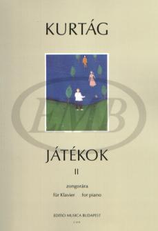 Kurtag G. - Games Vol. 2 - Piano