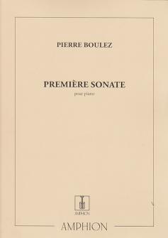 Boulez - Premiere Sonate - Piano