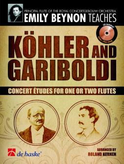 Köhler/gariboldi - Concert Etudes For One Or Two Flutes + Cd