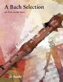 Bach J.s. - A Bach Selection  - Quatuor Flute A Bec Satb