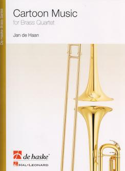 De Haan J. - Cartoon Music - Ensemble De Cuivres
