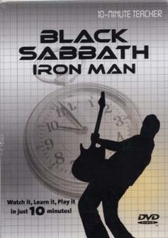 Black Sabbath -  Iron Man - Dvd 10-minute Teacher - Guitare