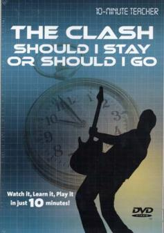 Clash (the) - Should I Stay Or Should I Go - Dvd 10-minute Teacher - Guitare