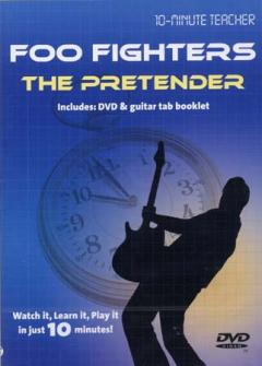 Foo Fighters -  The Pretender - Dvd 10-minute Teacher - Guitare