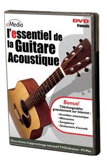 Essentiel De La Guitare Acoustique Dvd