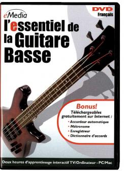Essentiel De La Guitare Basse En Dvd